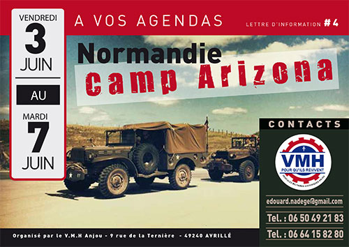 Normandie 2016 - camp ARIZONA