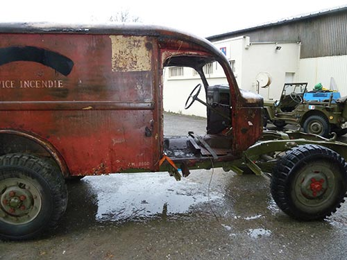 Dodge WC54 - Ambulance
