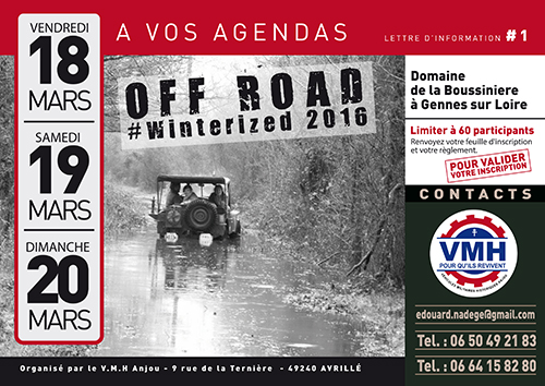 WINTERIZED 2016 #OFF ROAD
