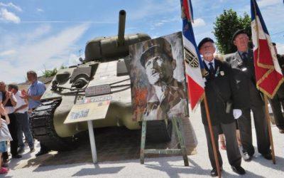 Grugé-l'Hôpital. Ils ont rendu hommage au général Leclerc, leur «héros»