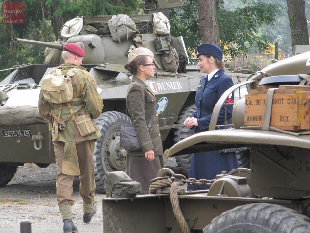 Avrillé / Portes ouvertes au Club des véhicules militaires historiques